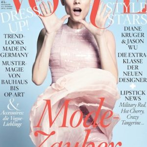 Unsere Braut Tanja hat das Pronovias Gewinnspiel in der deutschen Vogue gewonnen